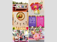 Fiesta Engagement Party or Rehearsal Dinner Ideas and