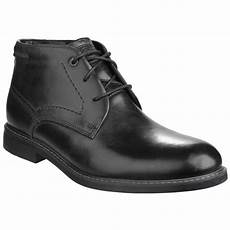 rockport classic break lace up chukka men s black boots free returns at shoes co uk