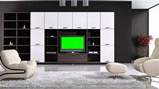 tv in living room in green screen free stock footage youtube