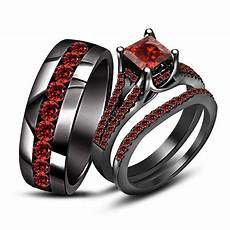 15 photo of black and wedding bands