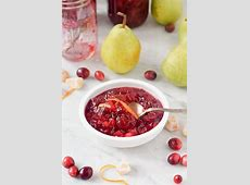 cranberry  pear  and ginger relish_image