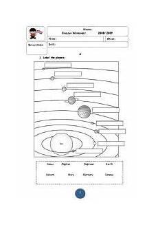 solar system worksheets pdf search bullentin