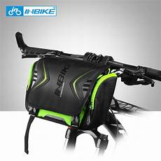 inbike waterproof bike bag large capacity handlebar front