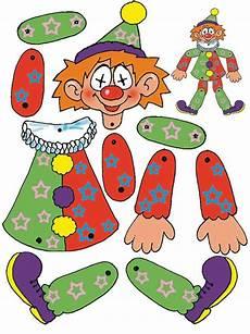 Clown Malvorlagen Ausdrucken Word Clown Basteln Mit Kindern Zu Fasching Vorlagen Ideen