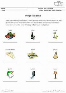 science worksheets materials 12296 material worksheets year 1 using material soft search year 1 science