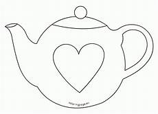 s day printable teapot 20609 s day teapot card template coloring page coloring home