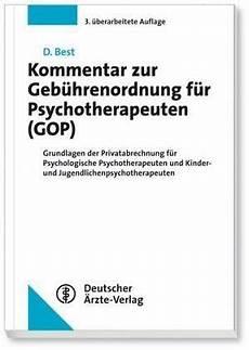 psychotherapie privatpatienten abrechnung kommentar zur geb 252 hrenordnung f 252 r psychotherapeuten
