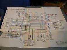 yamaha wiring diagram tw200eu tw200euc ebay