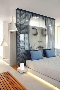 raumteiler ideen vorhänge vorh 228 nge schiebegardinen raumteiler trennwand schlafzimmer