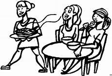 Malvorlage Kinder Restaurant Frauen Im Restaurant Ausmalbild Malvorlage Sport