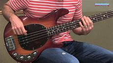 Stingray 4 H Electric Bass Guitar Demo