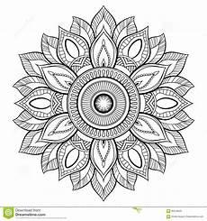 motivi della mandala fiore elementi decorativi dell