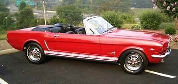 1965 Mustang Convertible Red White  Google Search