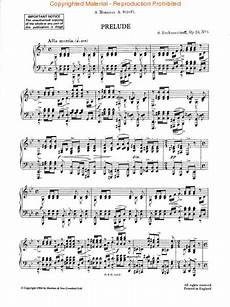 prelude in g minor op 23 no 5 piano sheet music by sergei rachmaninoff boosey hawkes