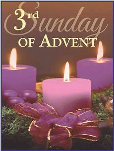 3rd sunday of advent advent candles advent happy holidays