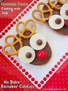 no bake reindeer cookies fun christmas food idea food