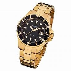 herren gold uhr regent herren armbanduhr f 370 quarz uhr stahl armband