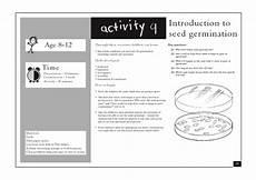 lesson plan for teaching germination introduction to seed germination lesson plan for 3rd 7th
