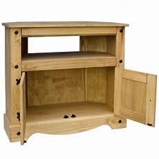 corona corner tv unit cabinet solid mexican pine furniture