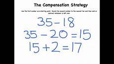 compensation estimation worksheets 8186 the compensation strategy for subtraction