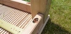 gartentisch selber bauen gartentisch aus massivholz