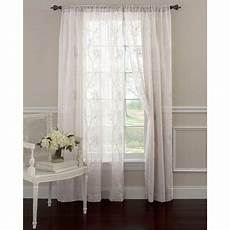 frosting panel pair window curtains walmart