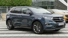 Neuer Ford Edge Test Fahrbericht Autogef 252 Hl