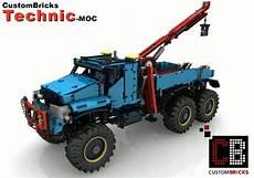cb recipe rc 6x6 tow truck sbrick for lego 174 technic
