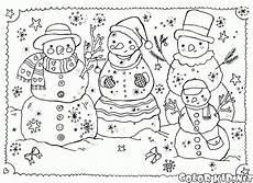 malvorlagen jahreszeiten winter