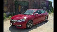 2017 honda accord sport road test review youtube