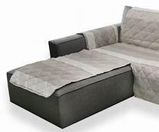copri divano penisola copridivano trapuntato adattabile a tutti i divani con