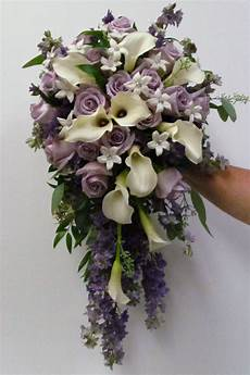 calla lilies orchids and roses cascade bouquet search cascading wedding bouquets