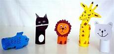 toilet paper rolls animals craft toddler crafts