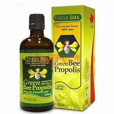 uncle bill green bee propolis concentrated extract 100