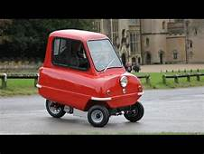 Worlds Smallest Car Peel P50  Things In The