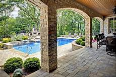 house plans with walkout basement and pool walk out basement in oak brook il with pool outdoor