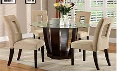 dining room sets glass west palm i espresso glass top pedestal dining room from furniture of america cm3625t