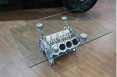 Sold Coffee Table Rover V8 Engine Block With 10mm
