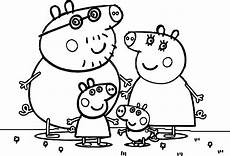 Peppa Wutz Ausmalbilder A4 Peppa Pig Family Coloring Page Wecoloringpage