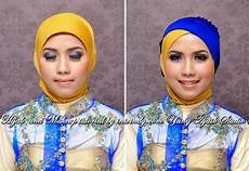 Kebaya Muslim Pengantin Jilbab Kebaya Wisuda Dua Warna