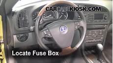 2007 saab 9 3 fuse box location interior fuse box location 2003 2007 saab 9 3 2004 saab 9 3 arc 2 0l 4 cyl turbo convertible