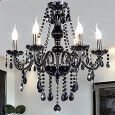 kronleuchter schlafzimmer neue moderne schwarz kristall kronleuchter beleuchtung f 252 r