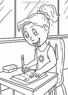 Vorschule Malvorlagen Junior Malvorlage Schule Sch 252 Lerin Malvorlagen Ausmalbilder