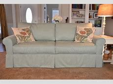 Four Seasons Alexandria Sofa with Ethan Allen custom slipcover