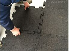 Safety mat 30 mm   WARCO Rubber Tiles