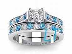 disney s princess cinderella inspired 2 5cts swarovski diamond and aquamarine sterling silver or