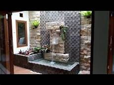 Desain Taman Dan Air Terjun Di Dalam Rumah