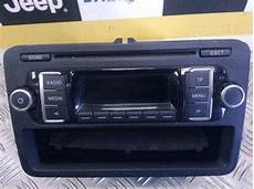 2012 vw golf plus cd player unit 5m0035156d ebay