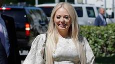 tiffany trump is pretty in gorgeous pink gown while