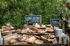 Unique Wedding Food Stations